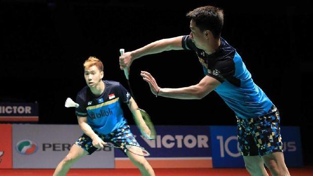 Marcus/Kevin Gagal ke Final Singapura Terbuka 2019