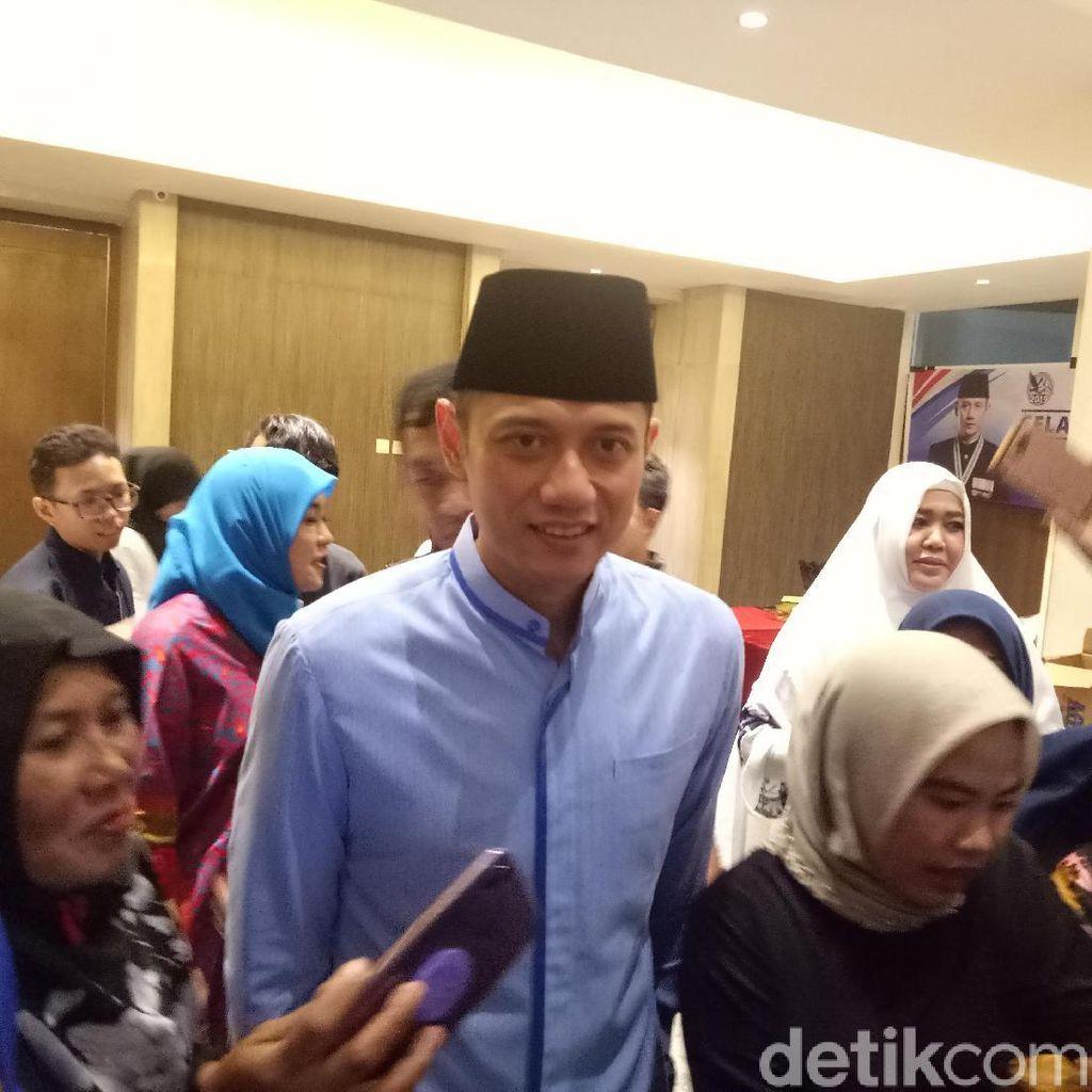 AHY Bandingkan Program Era SBY dan Jokowi di Depan Emak-emak