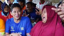 Curhat Pedagang Nasi Krawu ke Sandiaga soal Harga Terpaksa Naik Rp 1.000