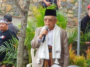 Maruf Amin Bawa Ayat ke Panggung Debat