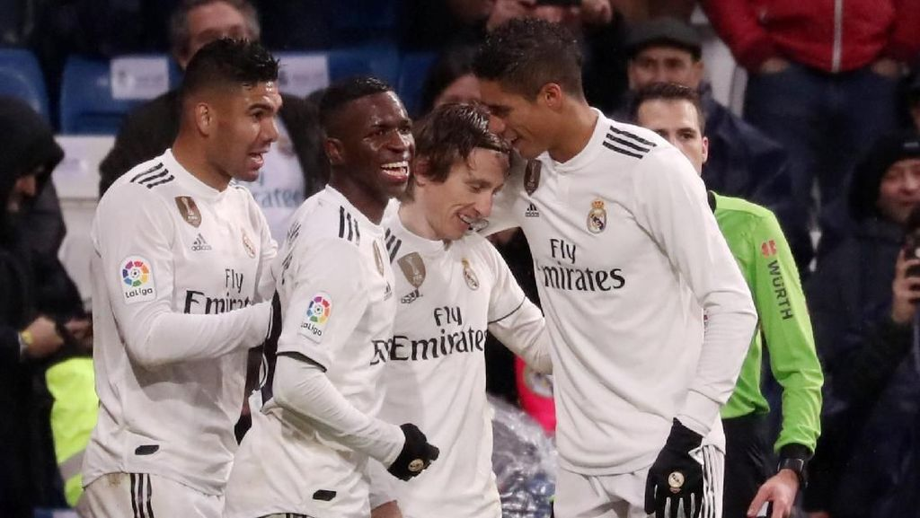 Klasemen Liga Spanyol: Madrid Tembus Tiga Besar