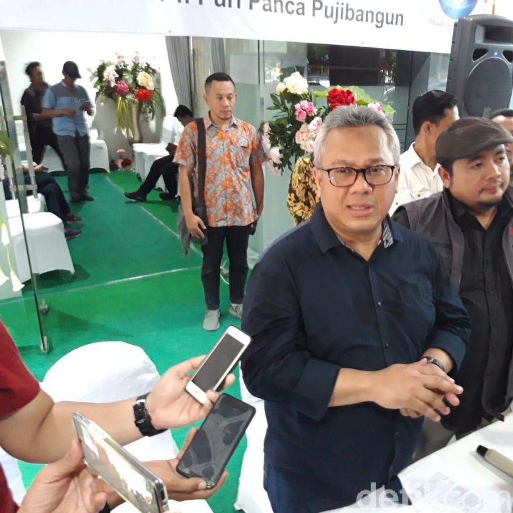 Tinjau Pencetakan Surat Suara Pemilu 2019 di Surabaya, Ini Pesan KPU