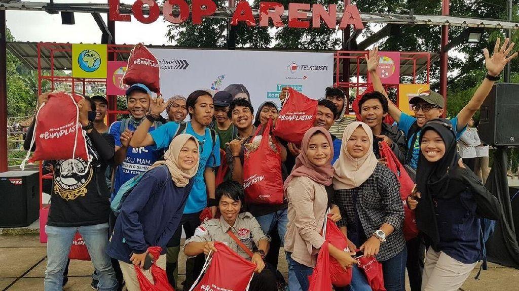 Telkomsel Gelar Festival, Ajak Warga Bogor Bijak Pakai Plastik