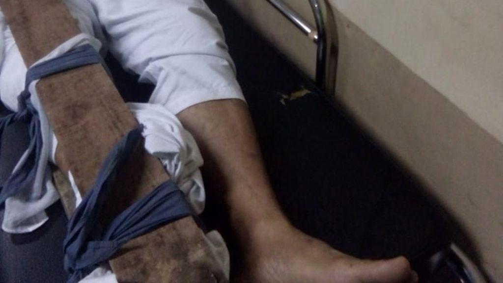 Kecelakaan Lalu Lintas, Yuki Pas Band Dirawat di RSUD Cianjur