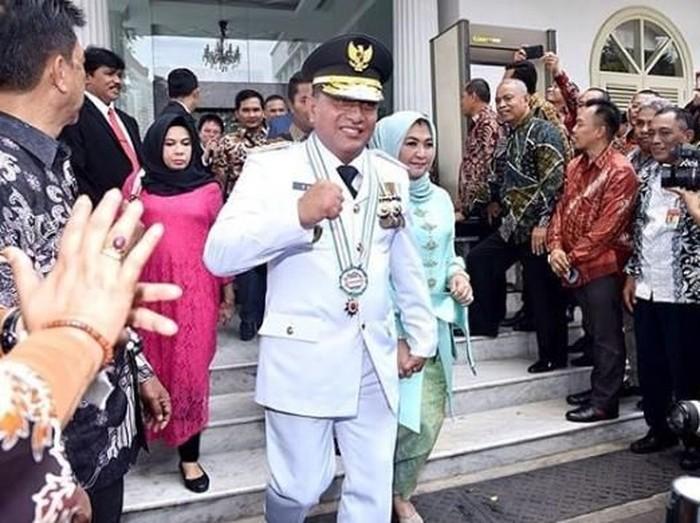 Gubernur Sumut Edy Rahmayadi mundur dari Ketum PSSI. (Foto: Instagram)