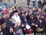 Didukung Warga KBB, Maruf Amin: Saya Wakil Orang Sunda