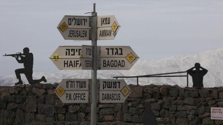 Gempuran Udara Israel ke Suriah Tewaskan 11 Orang
