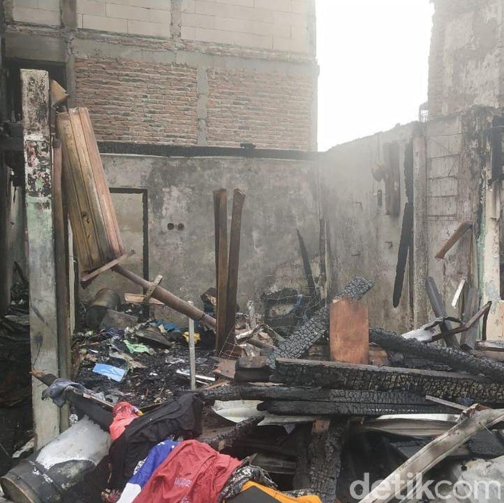 Kebakaran di Tomang Jakarta Barat Padam, 250 Rumah Terbakar