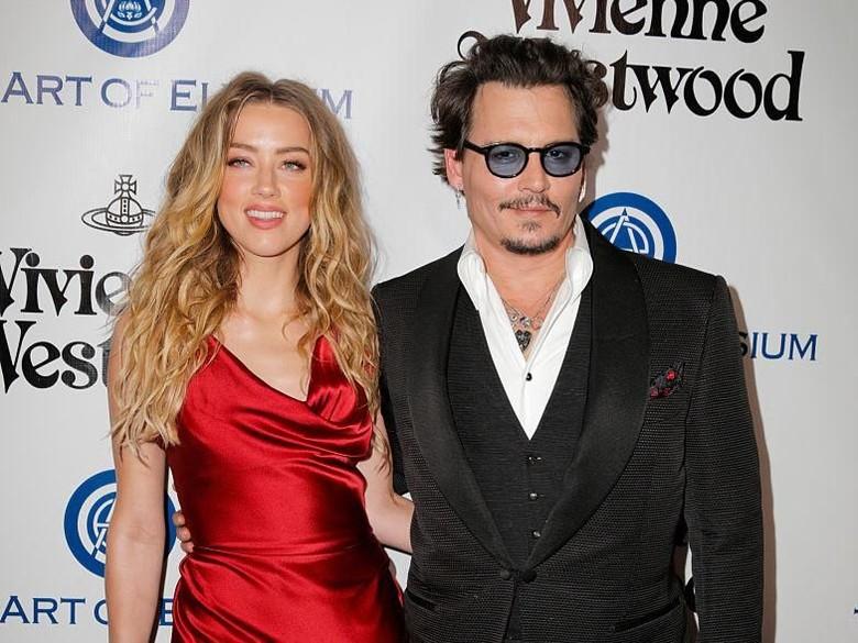 Johnny Depp Tuntut Amber Heard Rp 707 M atas Pencemaran Nama Baik