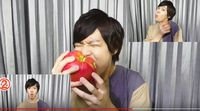 Unik! Youtuber Jepang Ini Bikin Musik dengan Suara Makan Apel