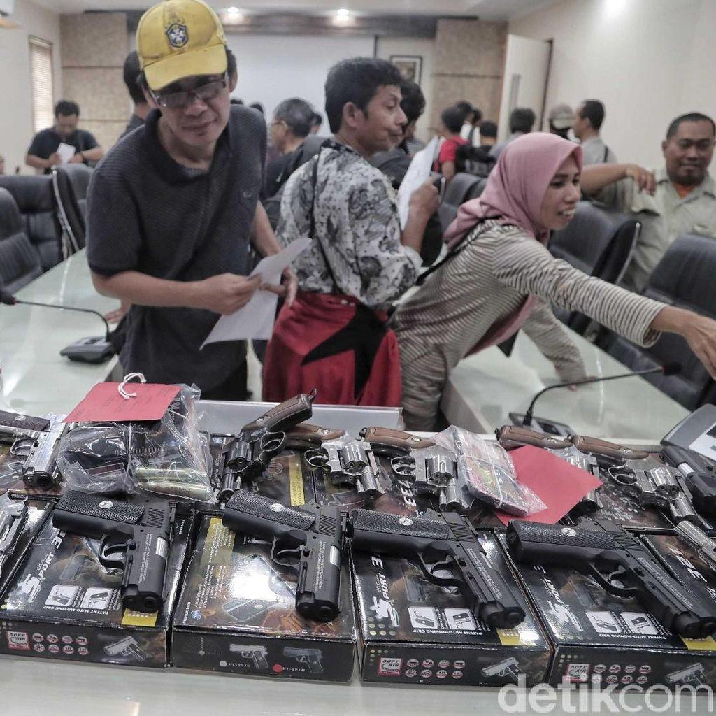 Polisi: Penjual Air Gun di Medsos Merupakan Member Shooting Club