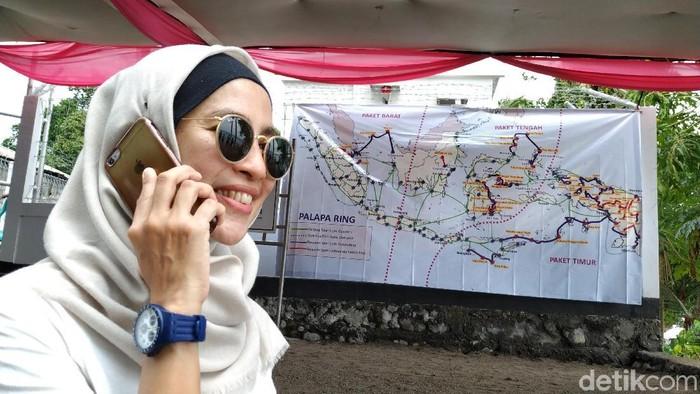 BAKTI menargetkan meraih pendapatan Rp 3,1 triliun tahun ini. Foto: Agus Tri Haryanto/detikINET