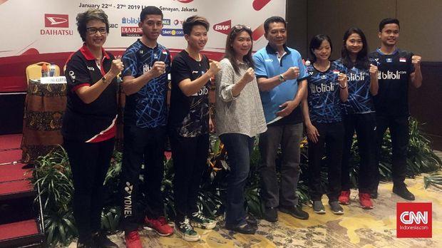 PBSI Targetkan Satu Gelar di Indonesia Masters