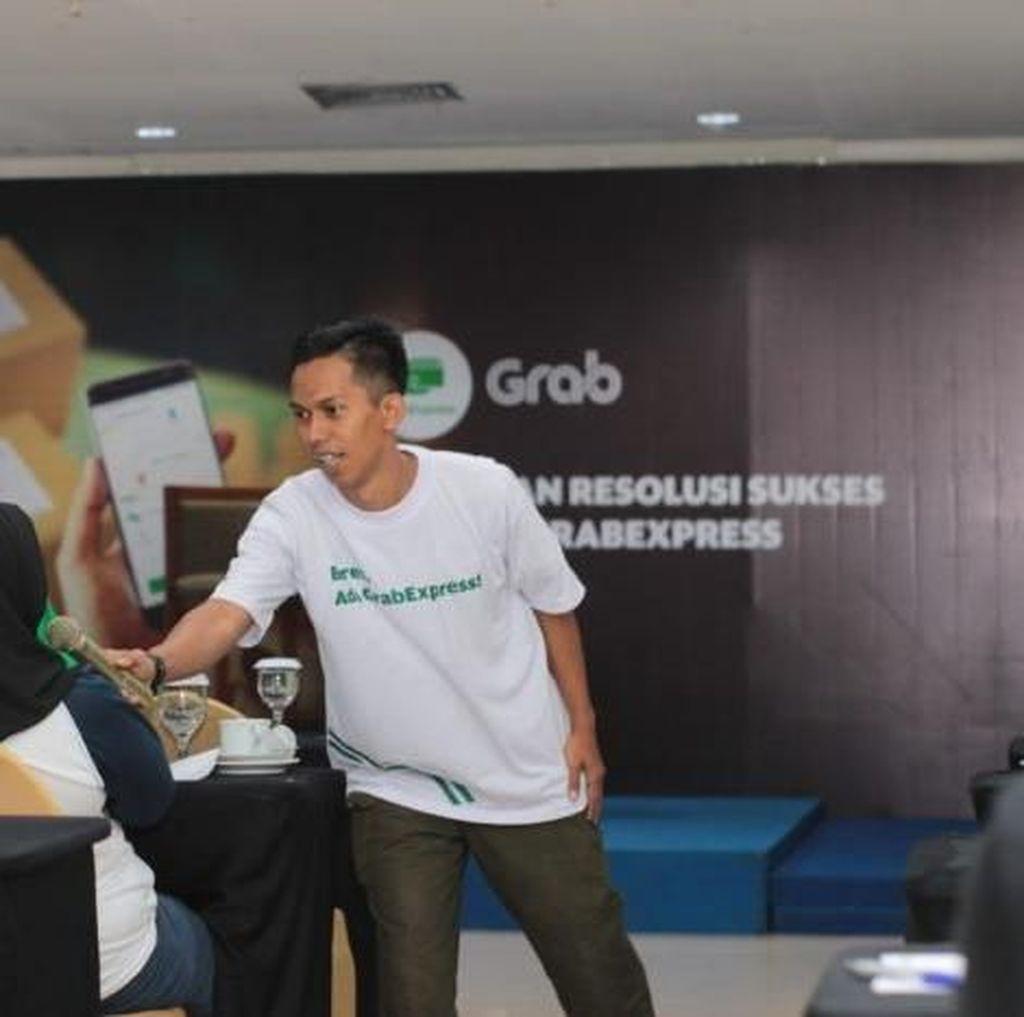 Grab Beri Ilmu Bisnis Online ke 70 Wirausahawan di Balikpapan