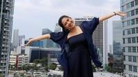 Josephine Firmstone saat berkunjung ke kantor detikcom, Kapten Tendean, Jakarta Selatan beberapa waktu lalu.