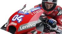 Philip Morris yang merupakan sponsor utama tim, mendapatkan eksposur paling besar dengan tampilnya slogan Mission Winnow di bagian fairing. Slogan ini menggantikan posisi tulisan Ducati pada musim lalu. (www.ducati.com)