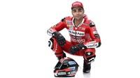 Danilo Petrucci juga ikut dalam peluncuran GP19. Petrucci berstatus pebalap baru Ducati menggantikan Jorge Lorenzo. (www.ducati.com)
