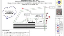 Cegah Macet, Angkot-Ojol Dilarang Lewat Depan Stasiun Bekasi
