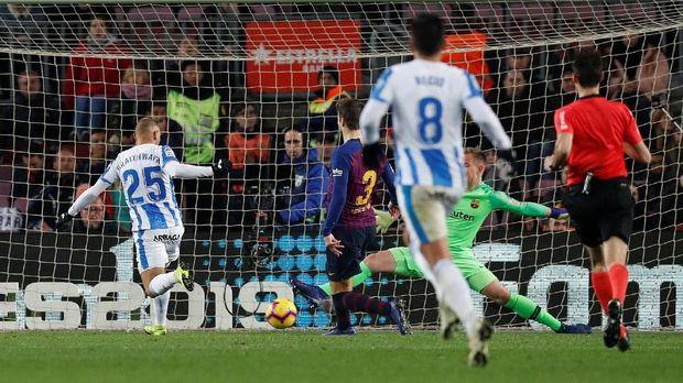 Barcelona Kalahkan Leganes 3-1 di Liga Spanyol