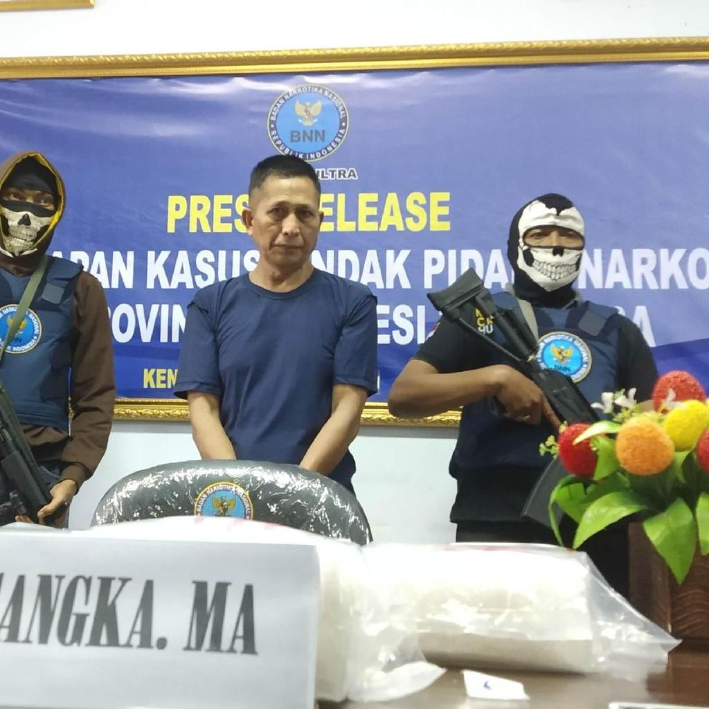 Bawa 5 Kg Sabu, Sopir di Kendari Terancam Hukuman Mati