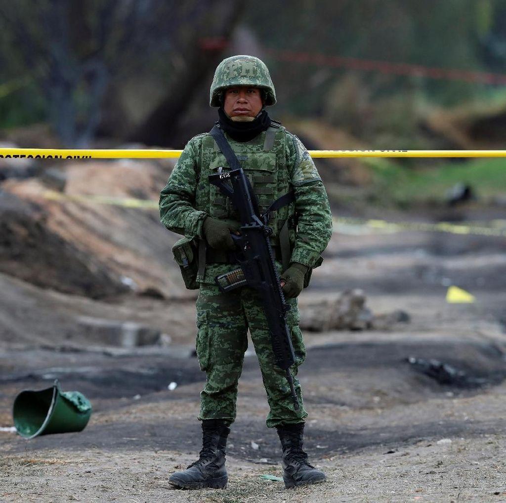 Korban Tewas Ledakan Pipa di Meksiko Bertambah Jadi 85 Orang