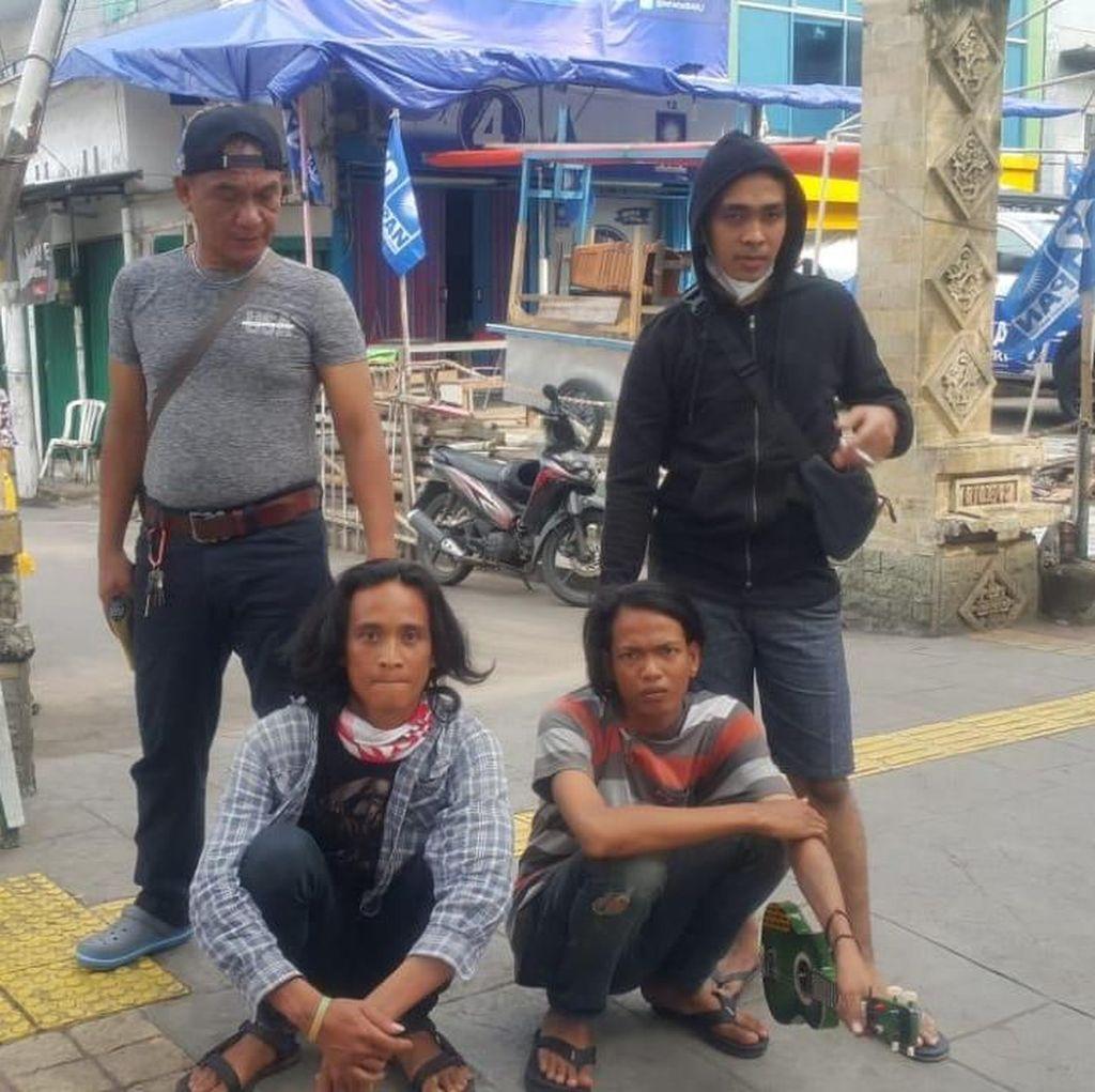 Polisi Tangkap Pemalak Modus Pengamen yang Viral di Medsos