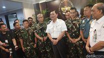 Luhut Apresiasi Kerja Keras Tim Penemu CVR Lion Air PK-LQP
