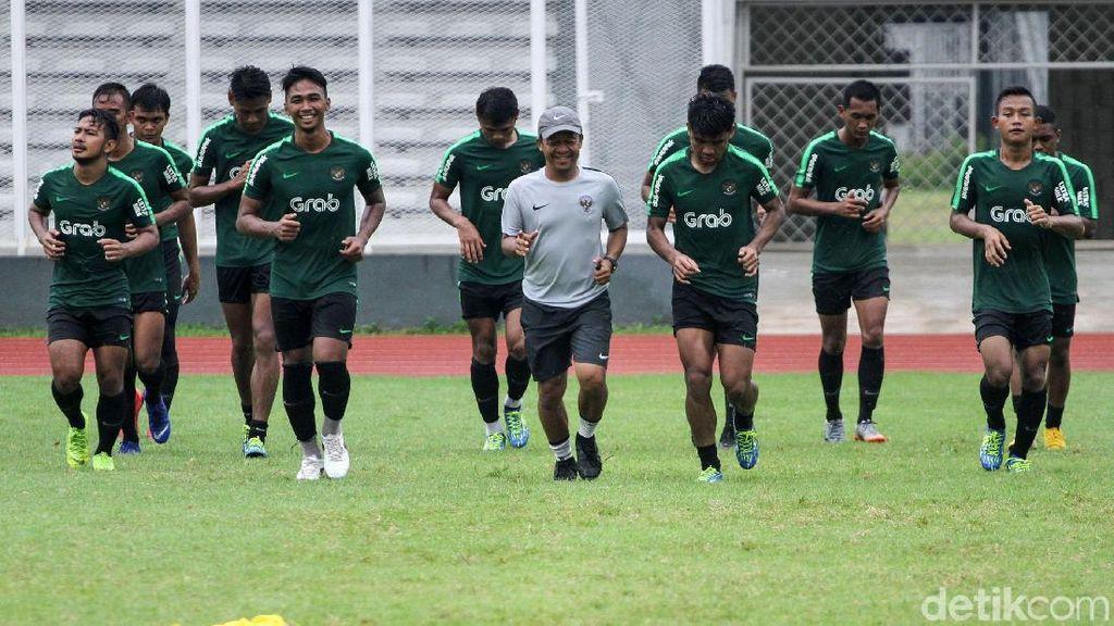 Ketum PSSI Mundur, Timnas U-22 Harus Tetap Berlatih Keras