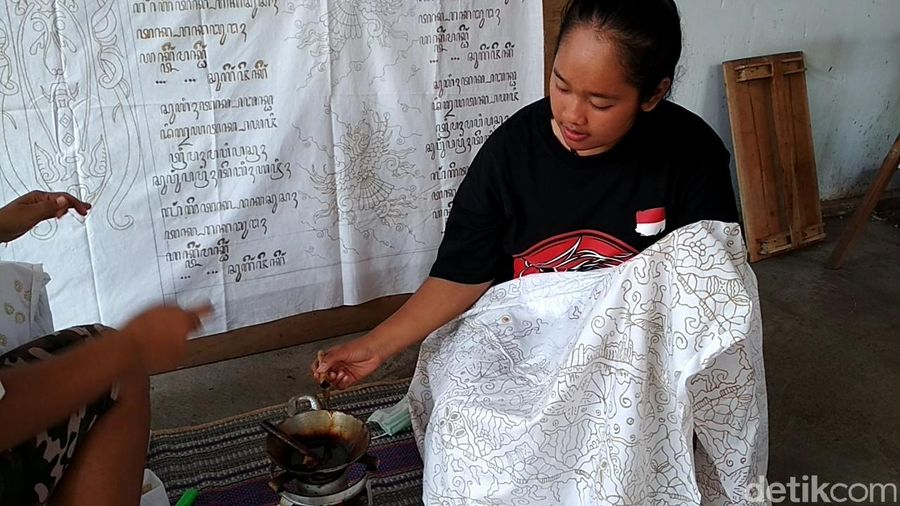 Desa wisata edukasi batik Sawentar, ada di Kecamatan Kanigoro, Kabupaten Blitar, Jawa Timur (Erliana Riady/detikTravel)