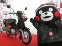 Lucu, Honda Super Cub Versi Beruang Hitam