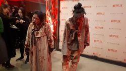 Hii... Jelang Konferensi Pers Kingdom, Para Zombie Berkeliaran Bebas