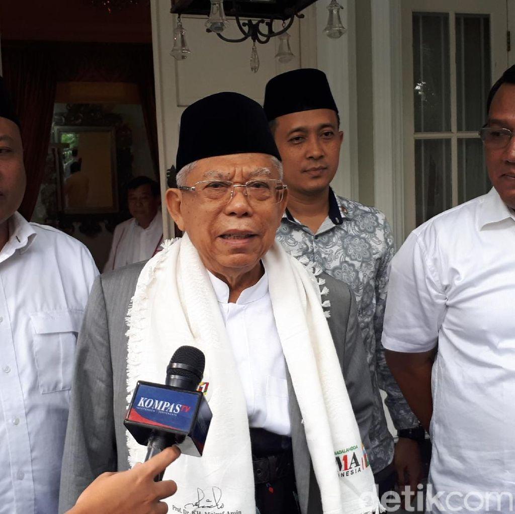 Maruf: Banten Harus Dijadikan Prioritas karena Dulu Jokowi Kalah