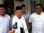Maruf Amin Safari Politik ke Serang Hingga Surabaya