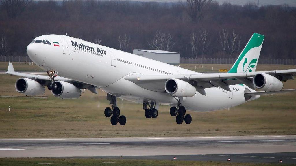 Heboh Pesawat Iran Dicegat Jet Tempur AS di Udara Bikin Penumpang Luka