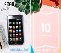 #10YearsChallenge ala Samsung Jadi Teaser Ponsel Lipat
