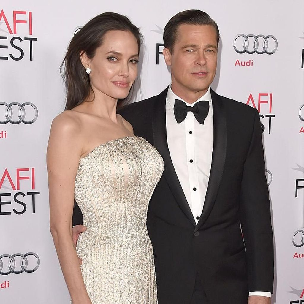 Angelina Jolie dan Brad Pitt Disebut Sudah Lelah Jadi Suami-Istri