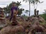 Teka-teki Batu Bersusun di Gunung Silayung Garut