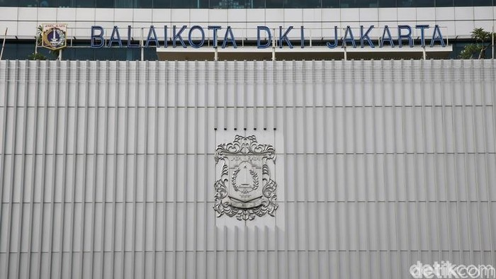 Foto: Gedung Balai Kota DKI Jakarta. (Ari Saputra-detikcom)