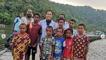 Foto: Menteri Sri Mulyani dan Kecantikan Raja Ampat