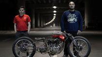Motor Modif Karya Anak Indonesia Terbaik Ketiga di Italia