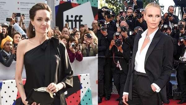 Kemiripan Angelina Jolie dan Charlize Theron