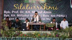 Canda Maruf Amin: Tafsirnya Bukan Jalalain, tapi Jalan Lain