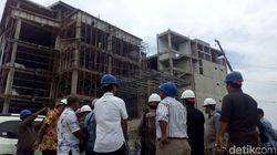 Pekerja Bangunan Gasak Gedung Pemda 2 Karawang yang Sedang Dibangun