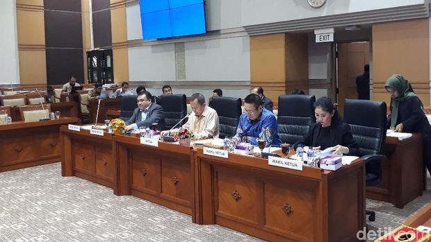 Komisi III DPR RDPU dengan Baiq Nuril, Selasa (22/1/2019)