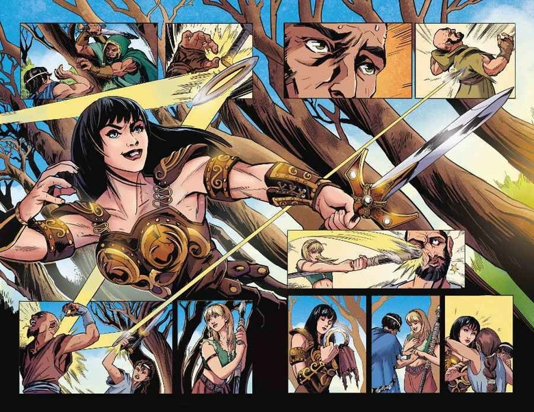 Komik Xena: Warrior Princess Bakal Terbit April