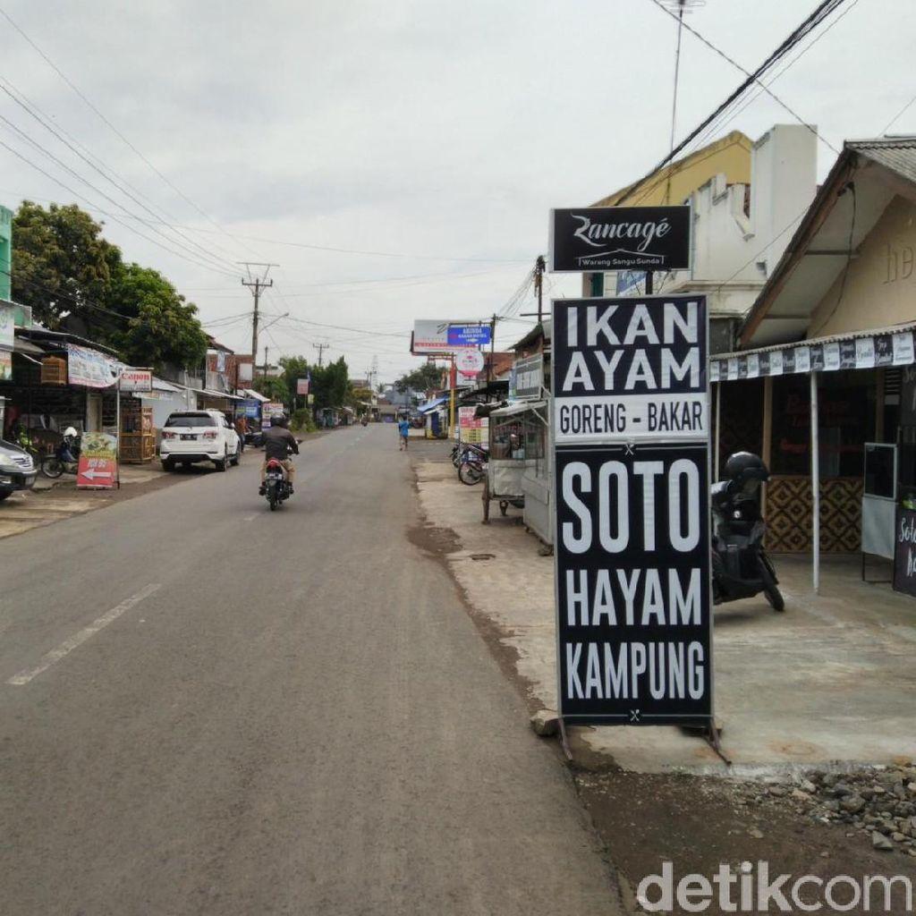 Ruas Jalan di Ciamis Diberlakukan Satu Arah, Pedagang Mengeluh