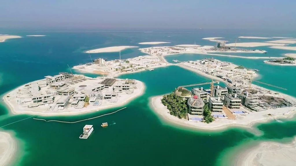 Mulai Nampak Sebagian Mega Resor Dubai Senilai Rp 71 T