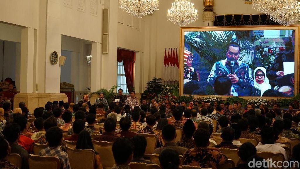 Temui Jokowi di Istana, Nelayan Sebut Cantrang Ramah Lingkungan