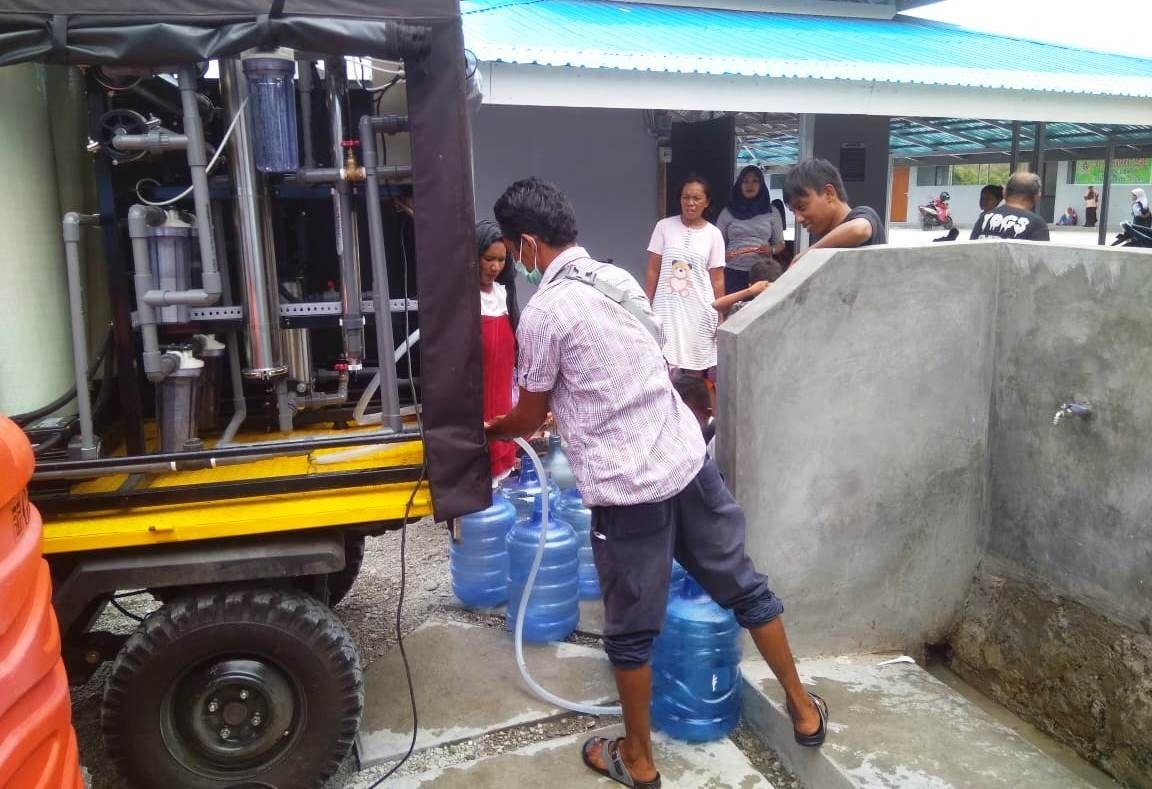 Kementerian Perindustrian menyalurkan 5 unit alat mekanis multiguna pedesaan (AMMDes) ke Sulawesi Tengah. AMMDes ini berfungsi sebagai pengolah air jernih.