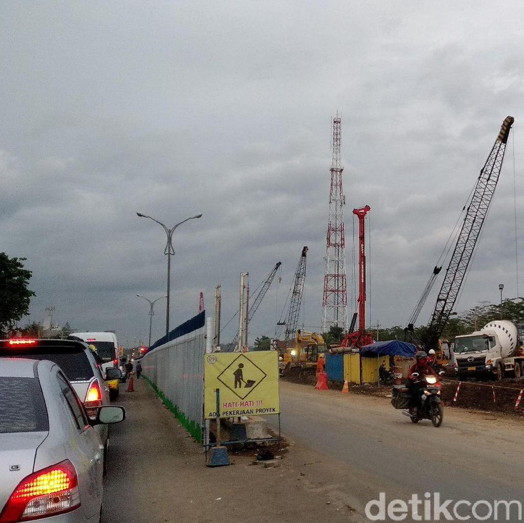Underpass Dibangun, Lalin di Simpang Empat Karanglo Mulai Dialihkan